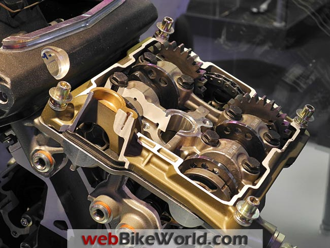 Ducati Superquadro Engine Valves