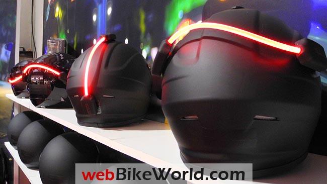 Fiber Flare on Helmets
