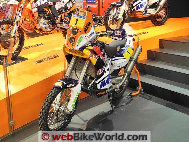 KTM Dakar Bike