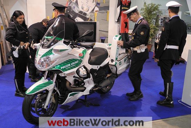 Moto Guzzi Police Motorcycle