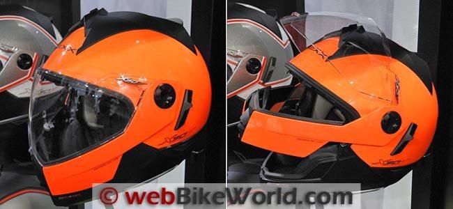 Nexx X30 Orange
