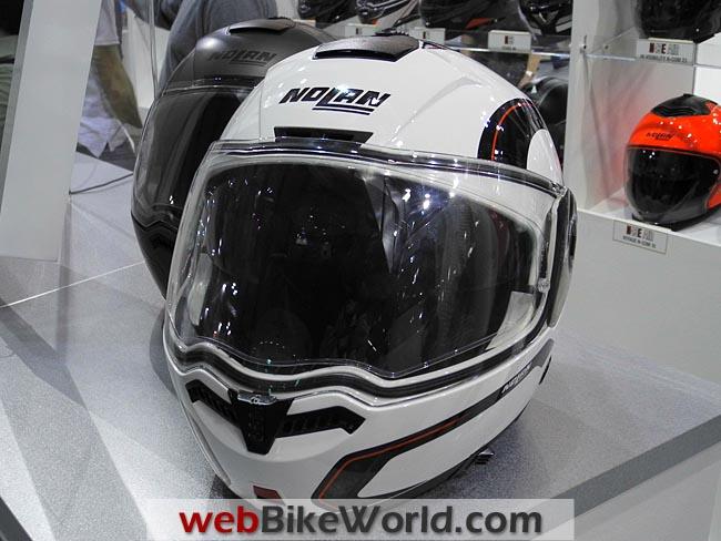 Nolan N-104 Helmet Front View