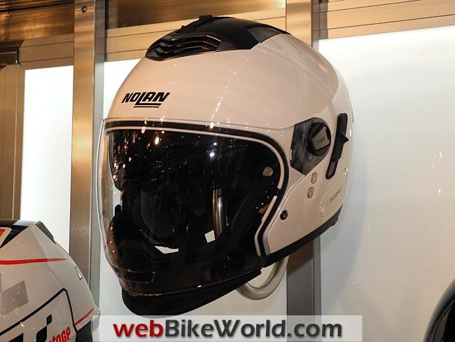 Nolan N-43 Helmet White Front