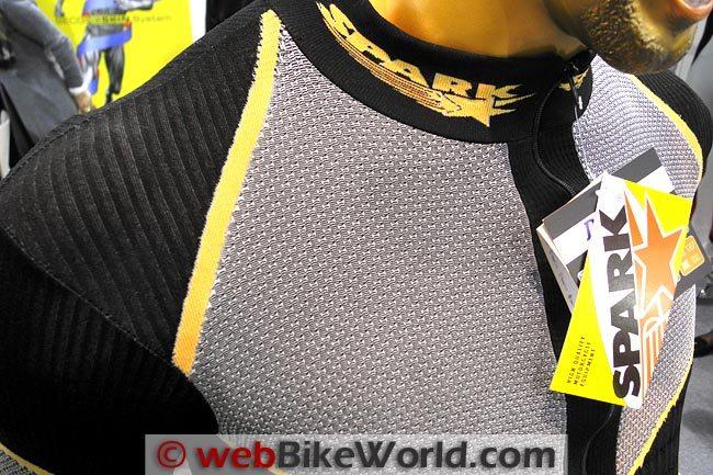 Spark Underwear Shoulder Close-up