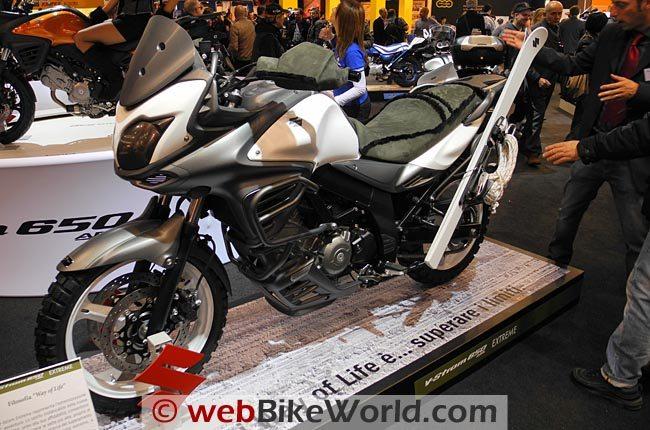 Suzuki V-Strom Extreme Left Side