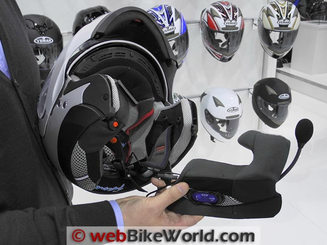 Vemar Helmet Bluetooth Cheek Pad