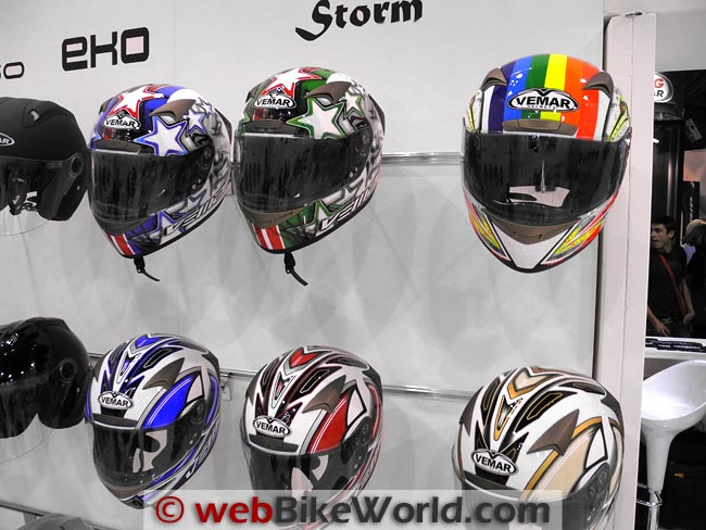 Vemar Storm Helmet Colors