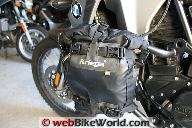 AltRider Crash Bars With Kriega Bag