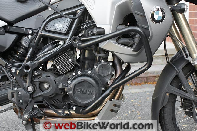 AltRider Crash Bars on BMW F800GS