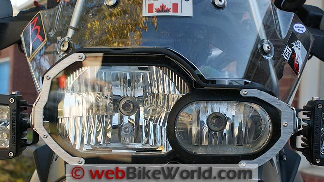 AltRider Headlight Guard BMW F800GS