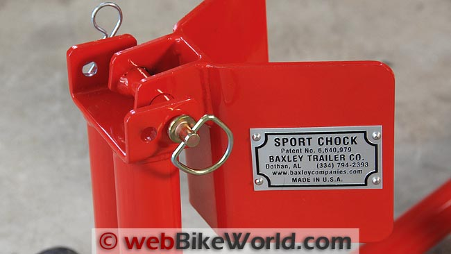 Baxley Sport Chock Adjustability