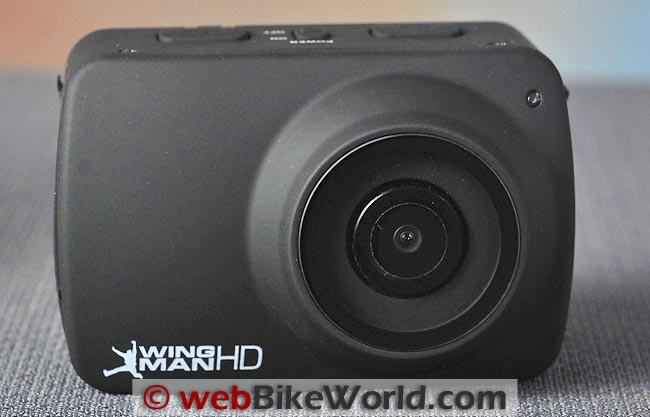 Delkin Wingman HD Camera Front View