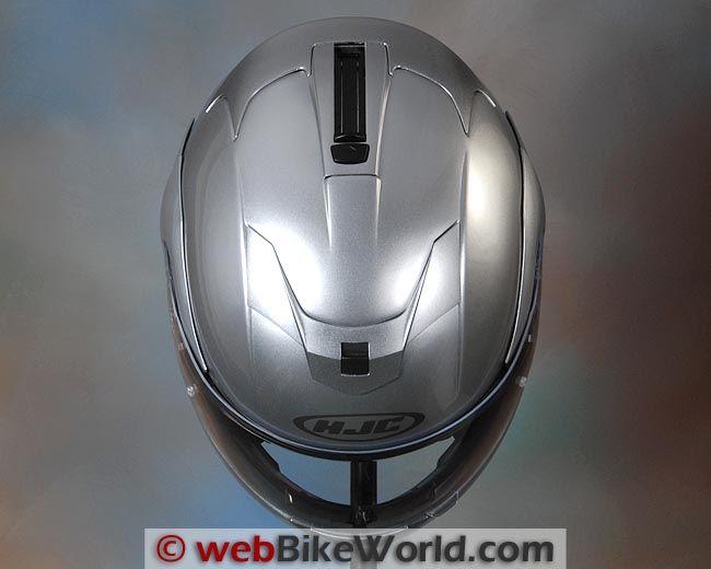 HJC Sy-Max Helmet Top View
