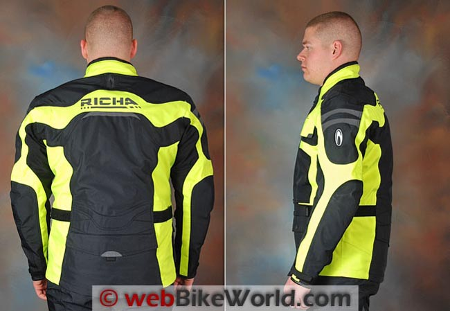 Richa Spirit Jacket Rear Side Views