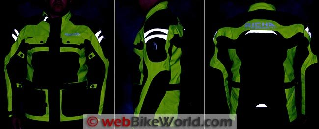 Richa Spirit Jacket Reflectivity