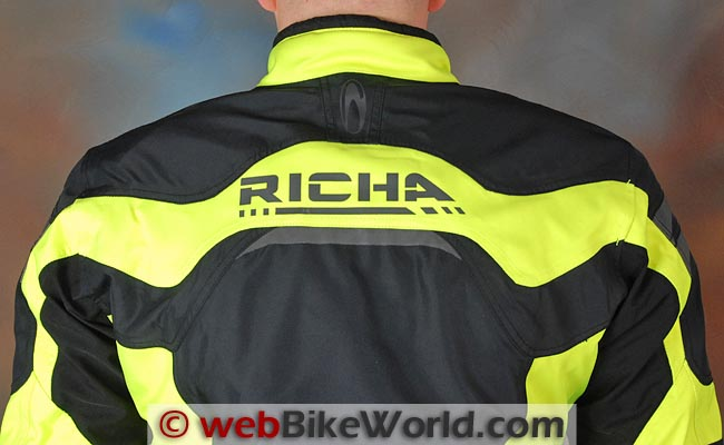 Richa Spirit Jacket Upper Back