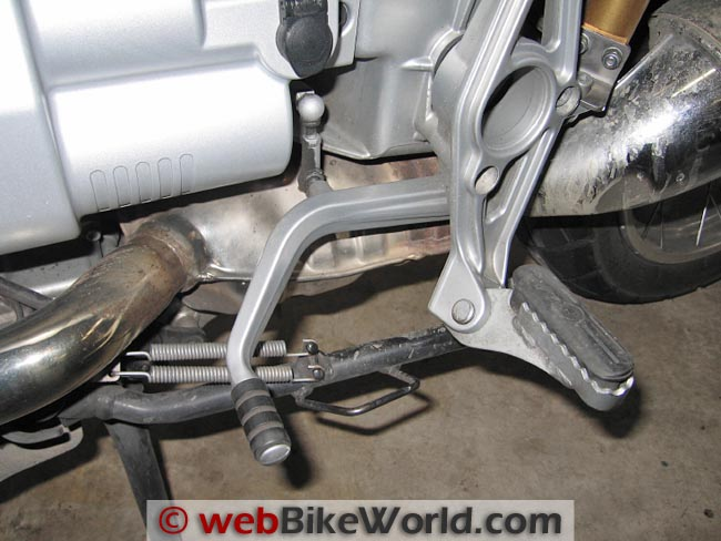 Stock BMW Shift Lever
