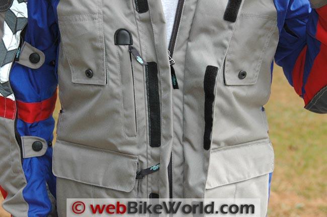 Teiz Navigator Jacket Front Details