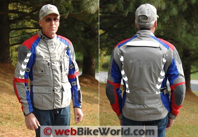 Teiz Navigator Jacket Front Rear