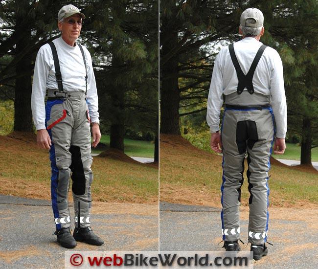 Teiz Navigator Pants Front Rear