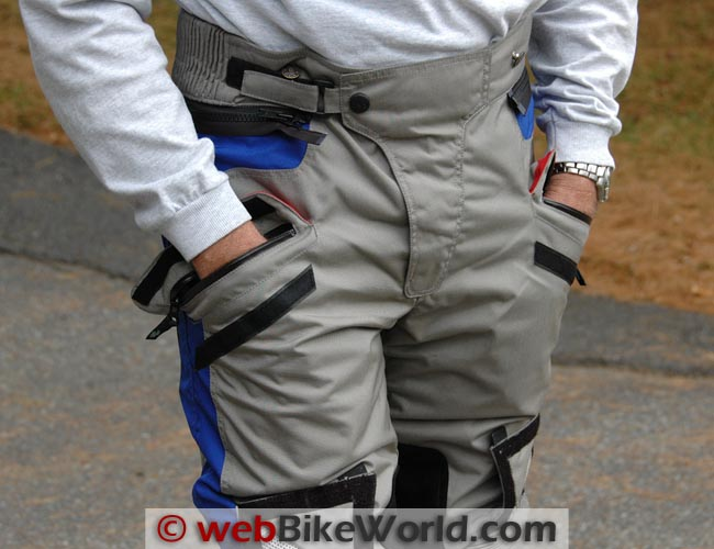 Teiz Navigator Pants Pockets