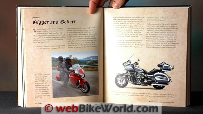 The Motorcycle Touring Bible Pages