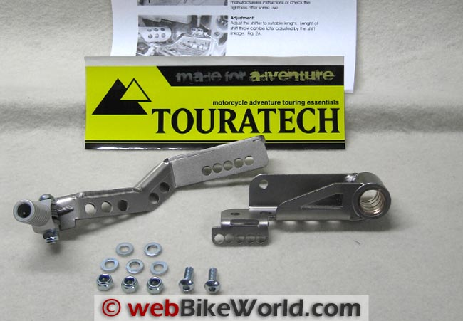 Touratech Adjustable Shift Lever Kit