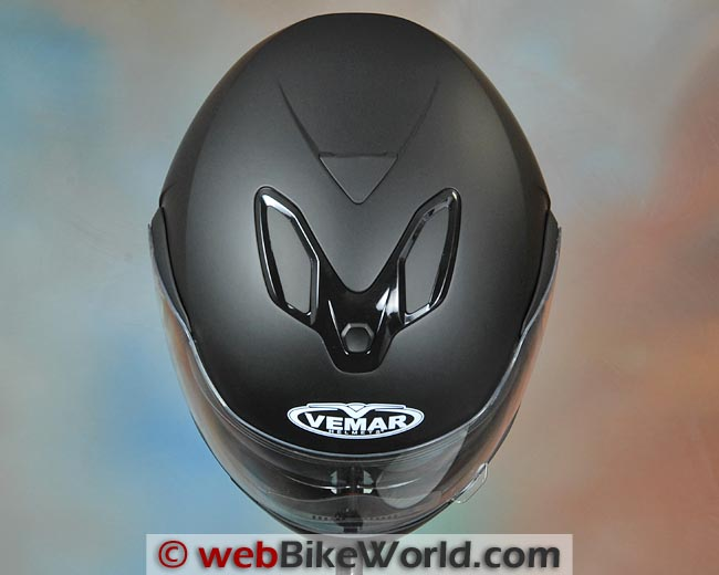 Vemar Attivo Helmet Top View