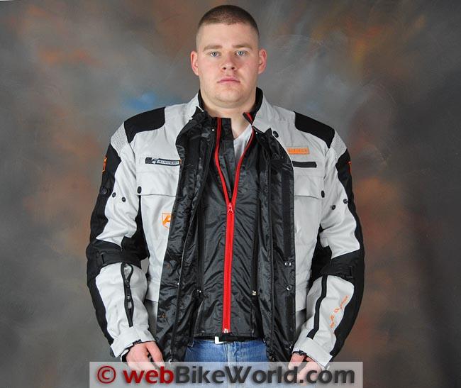 Akito Desert Jacket Front Open