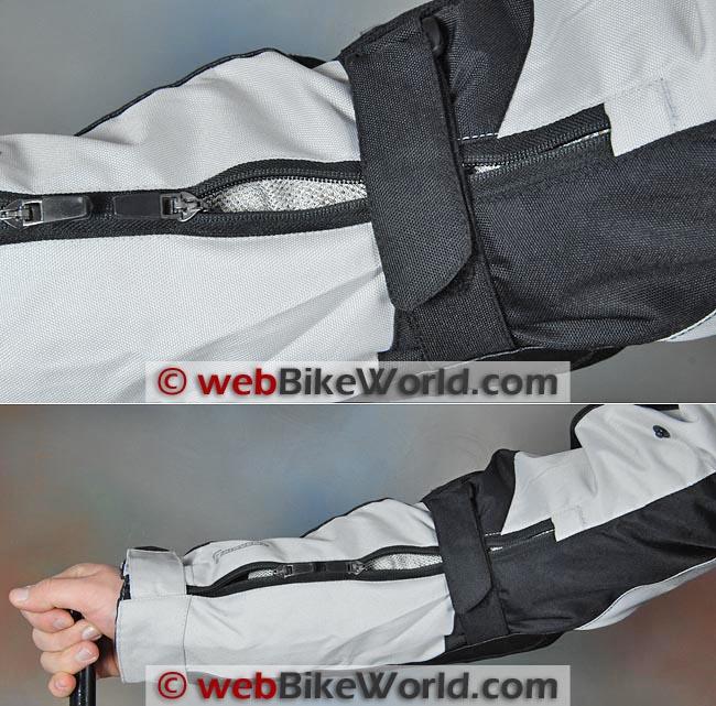 Akito Desert Jacket Sleeve Vents