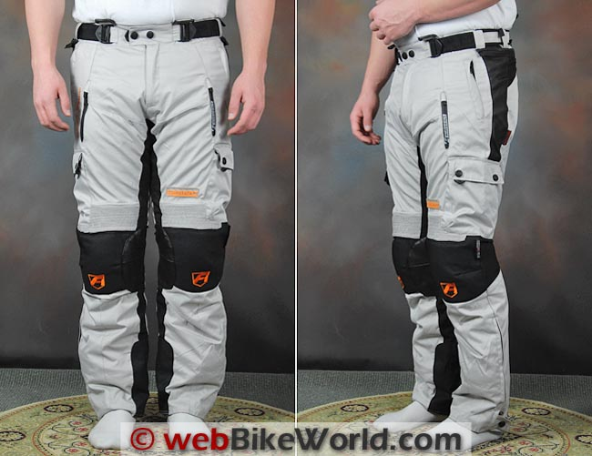 Akito Desert Pants Front and Side Views