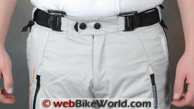 Akito Desert Pants Waist Front