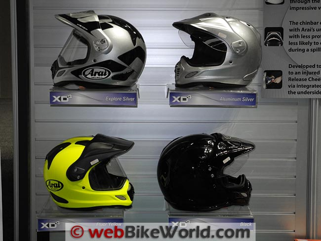 Arai XD4 Helmet Colors