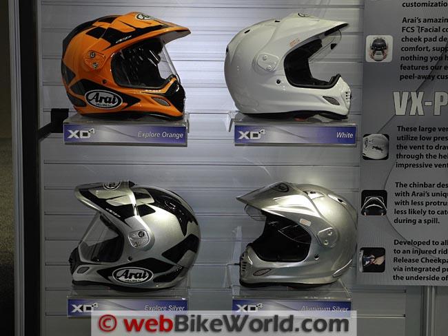 Arai XD4 Helmets