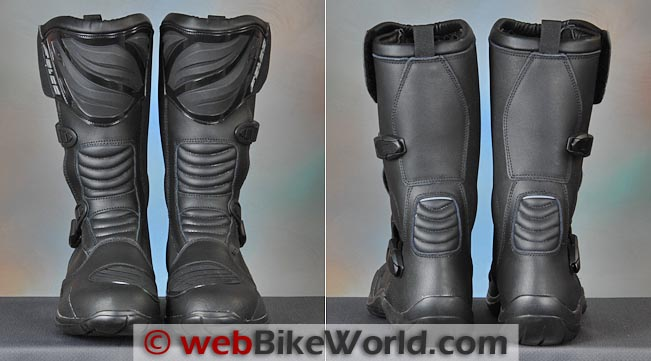 Falco Mixto Boots Front Rear Views