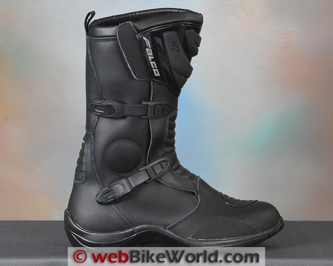 Falco Mixto Boots Outside and Buckles