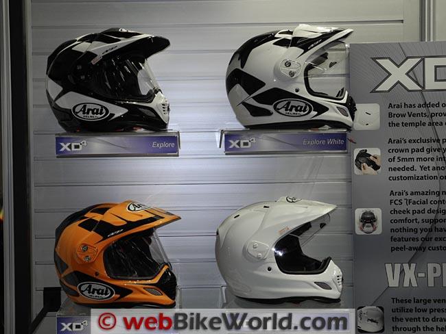 More Arai XD4 Helmets
