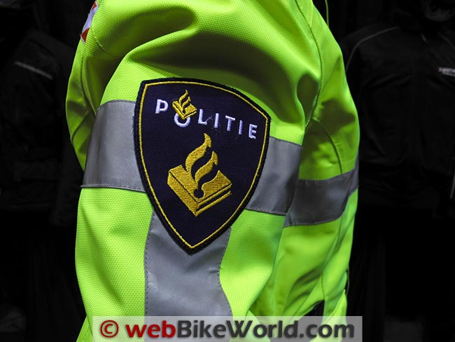 Richa Spirit Jacket Police Version Close-up