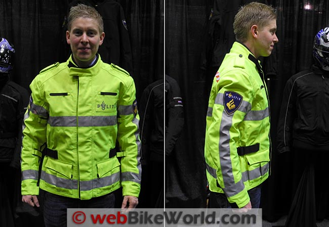 Richa Spirit Jacket Police Version Front Side