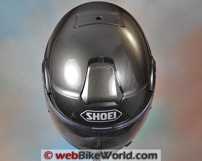 Shoei Neotec Helmet Top View