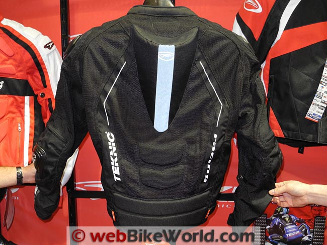 Teknic Supervent Pro Mesh Jacket Rear