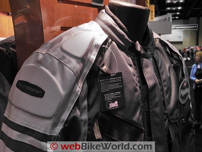 Tourmaster Centurion One-Piece Suit Shoulder