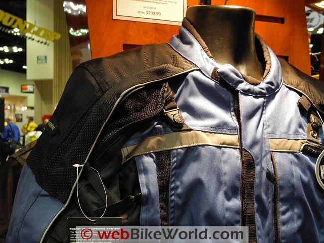 Tourmaster Transition Series 3 Jacket Close-up