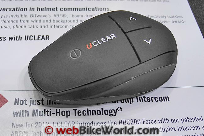 UClear HBC200 Bluetooth Intercom