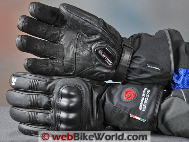 VQuattro Squadra Heated Gloves