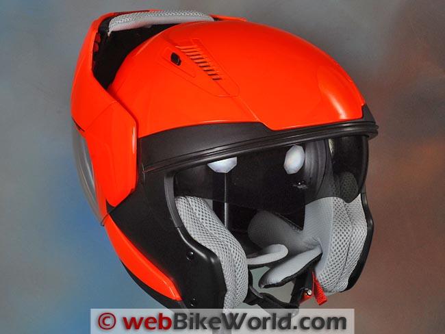 AFX FX-140 Helmet Visor Rotation