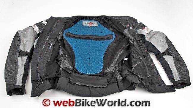Joe Rocket Reactor 2.0 Jacket Back Protector