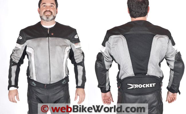 Joe Rocket Reactor 2.0 Jacket Front Rear