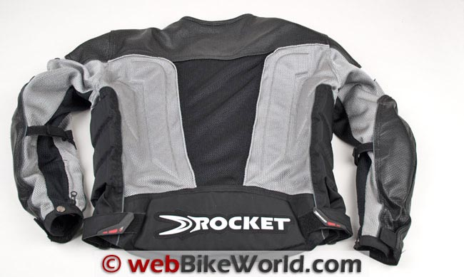 Joe Rocket Reactor 2.0 Jacket Rear