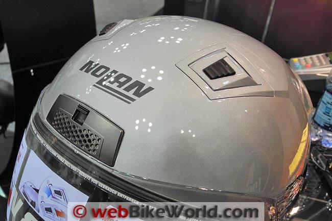 Nolan N-85 Top Ventilation System